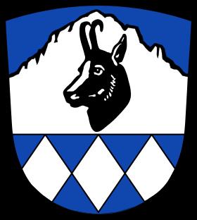 das Wappen von Bayrischzell