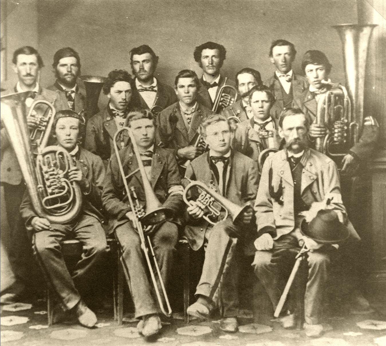 Die ersten Musikanten im Jahre 1867