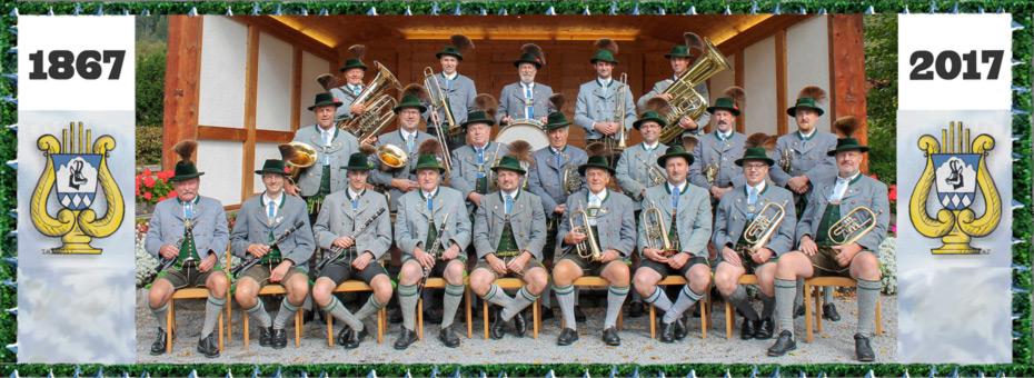 150-jubiläum der Musikkapelle-Bayrischzell