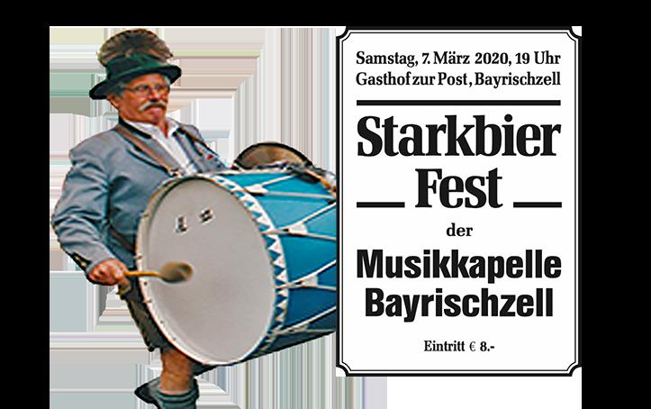 Starkbierfest 2020 der Musikkapelle Bayrischzell